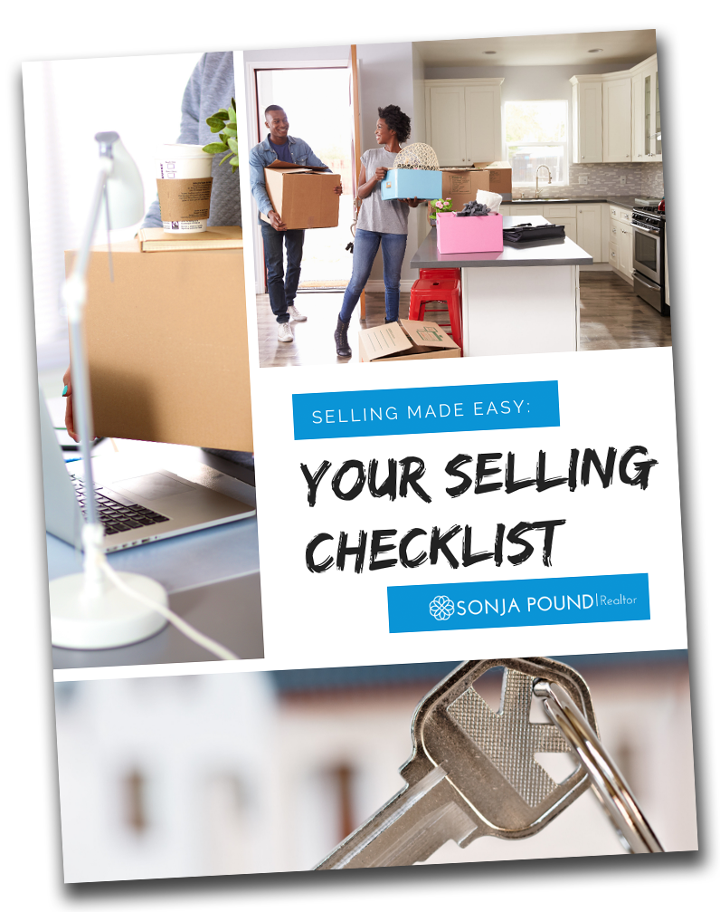 Selling Checklist by Sonja Pound