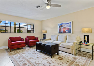 100 Picardy Court Naples, FL - Living Room