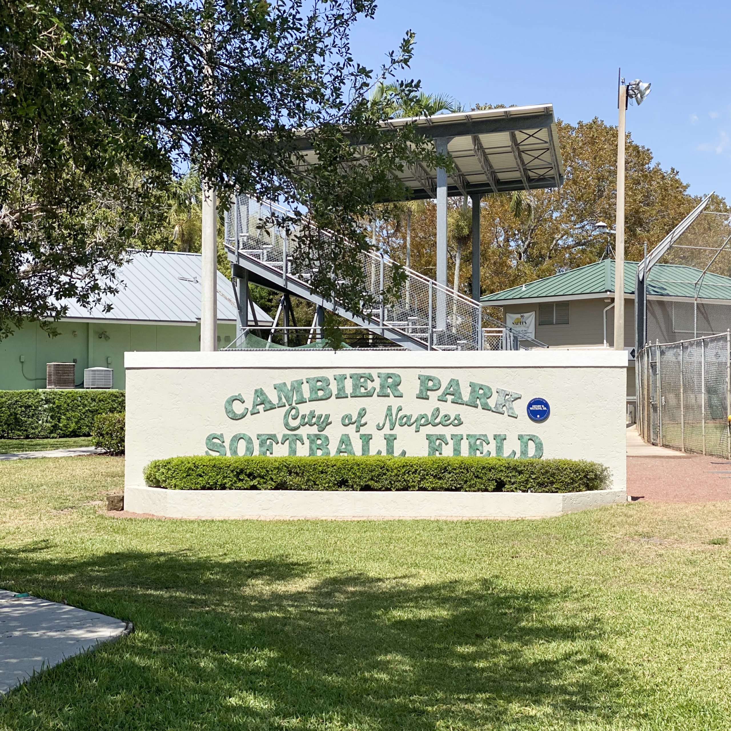 Cambier Park Softball Field