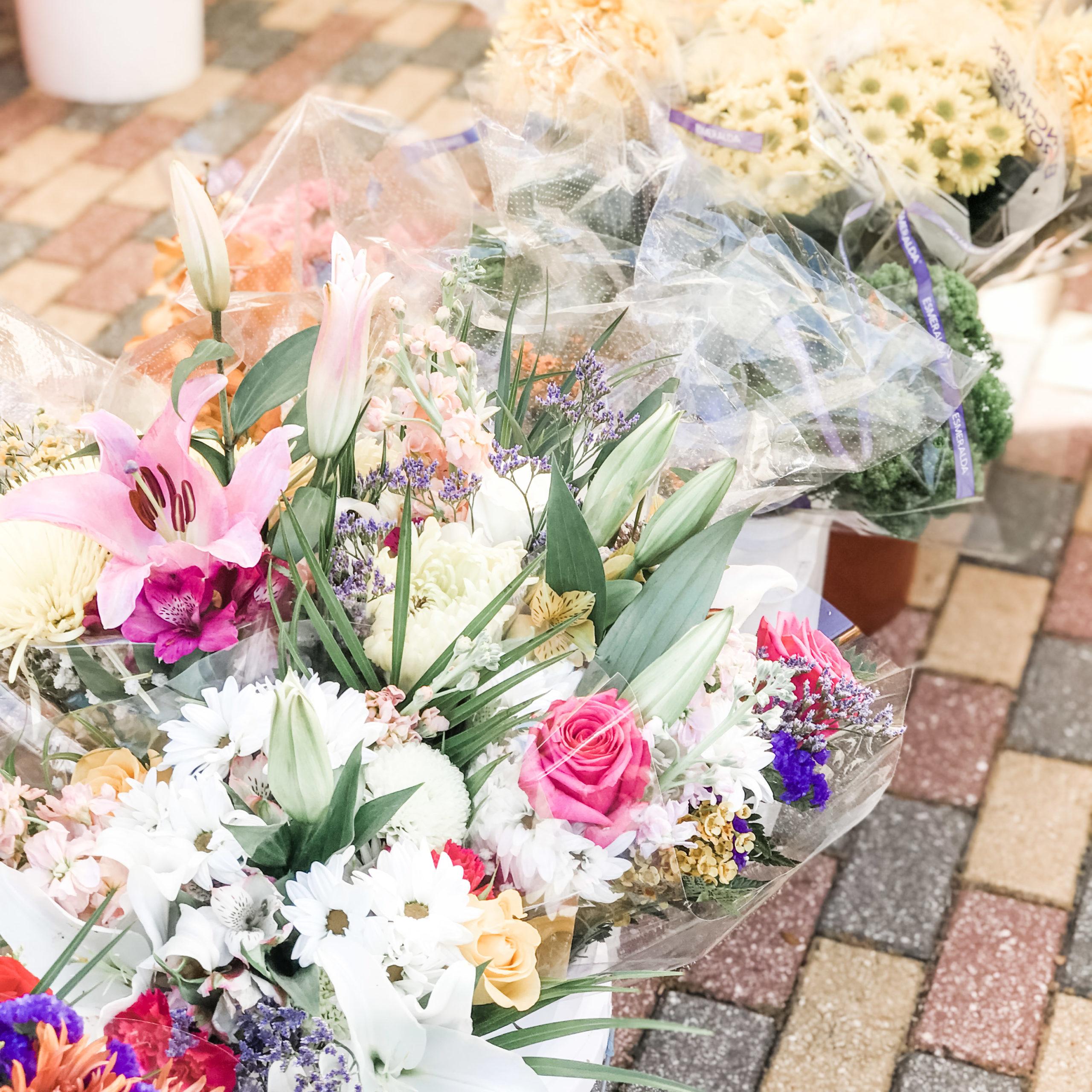 Flowers at Vanderbilt Market